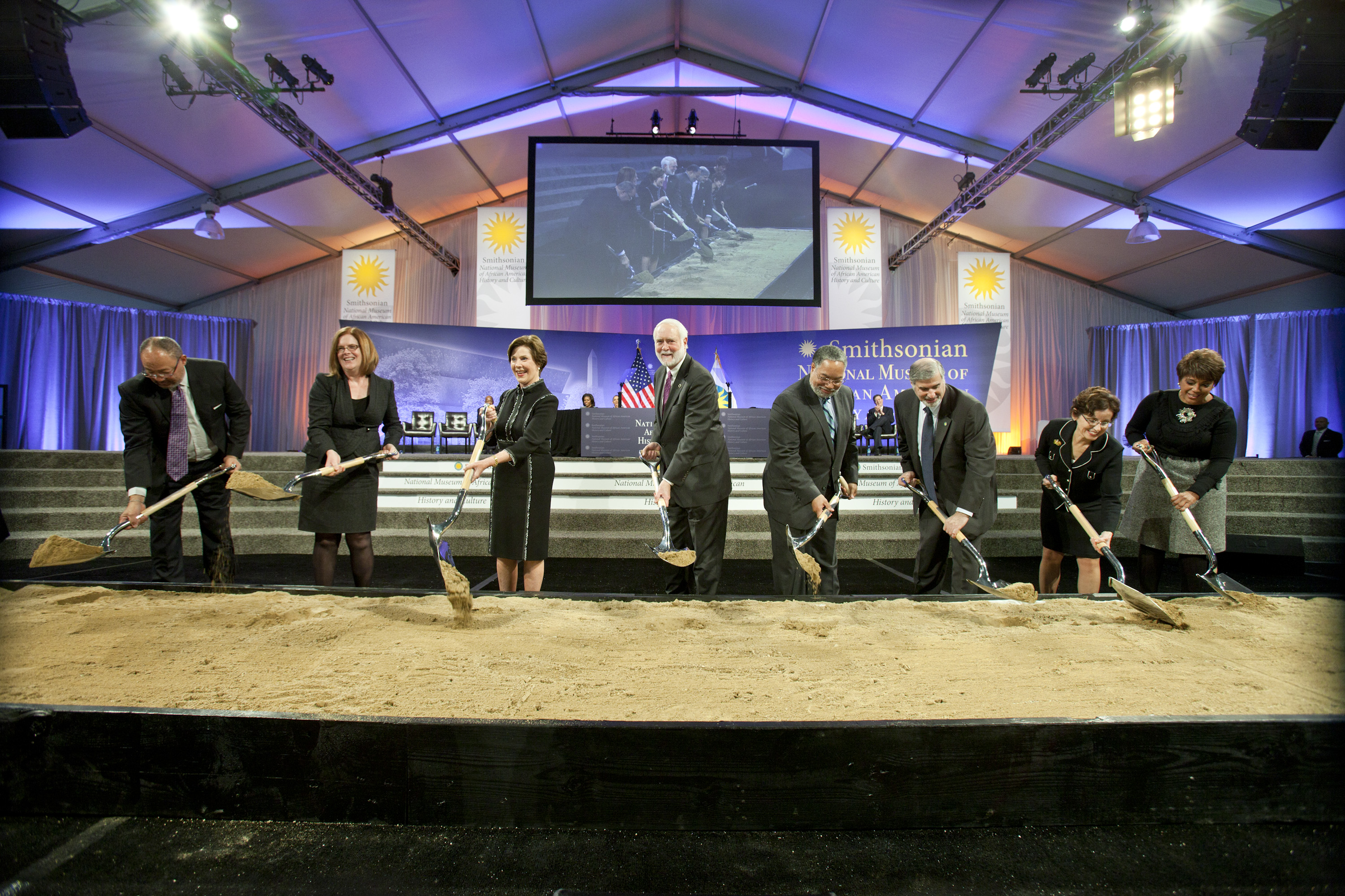 National Museum of African American History and Culture Groundbreaking
