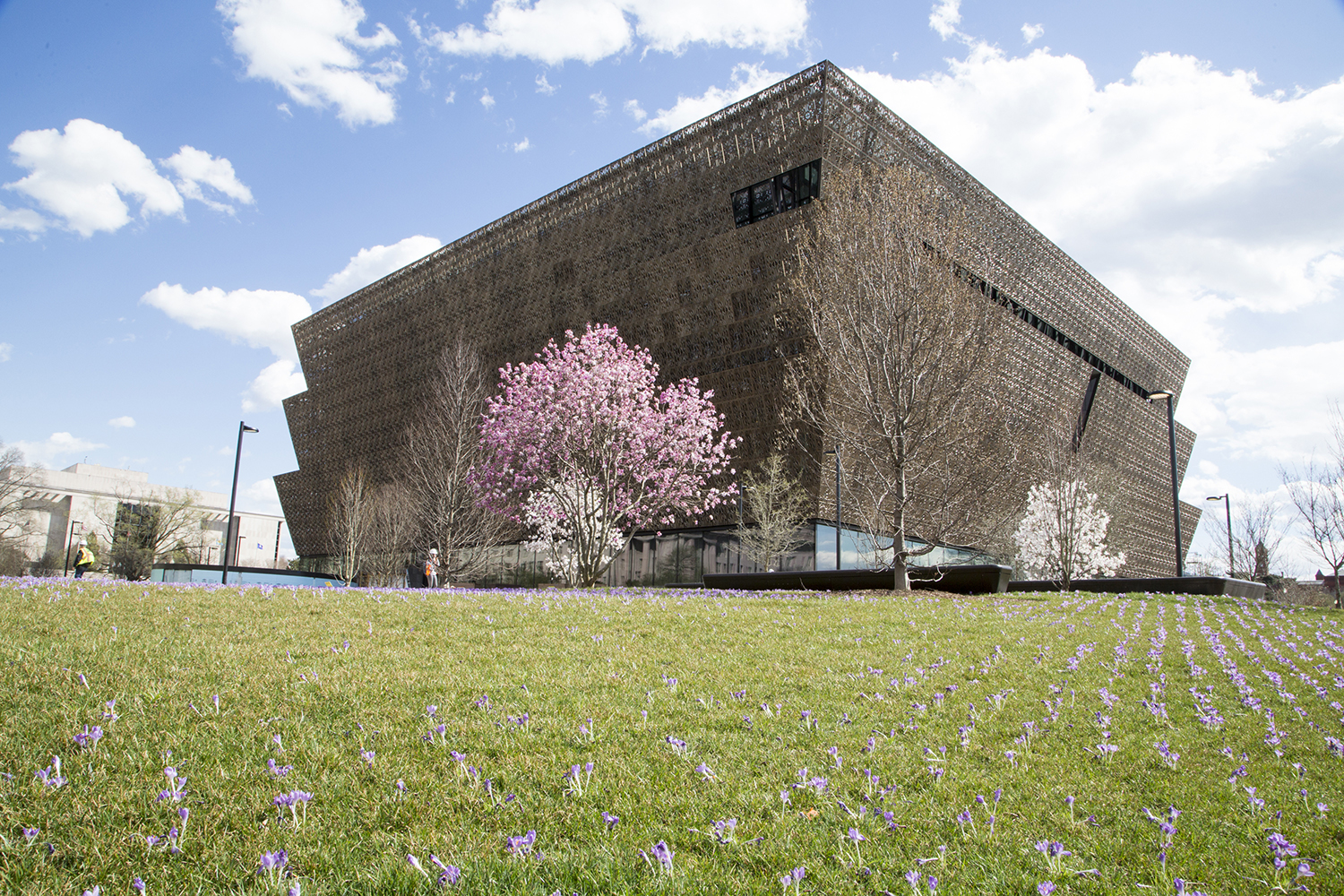 National Museum of African American History and Culture in Spring 2016