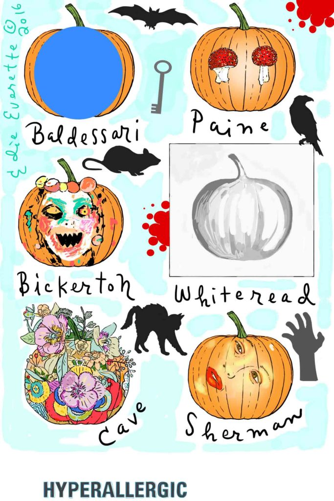 Art Pumpkins by Edie Everette