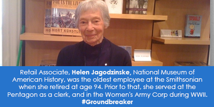 Retail Associate, Helen Jagodzinske, National Museum of American History