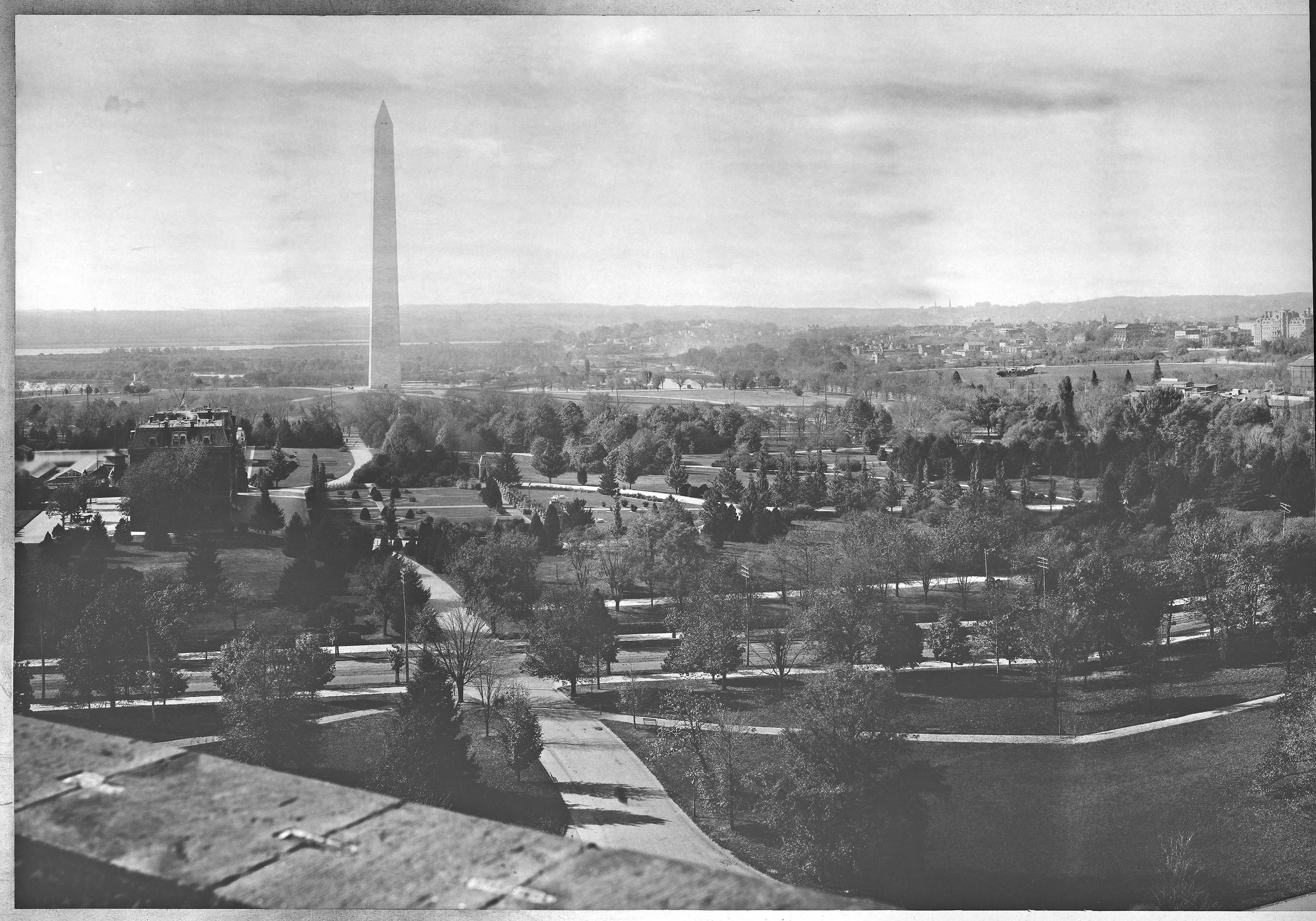 Panoramic photo of Washington, D.C.