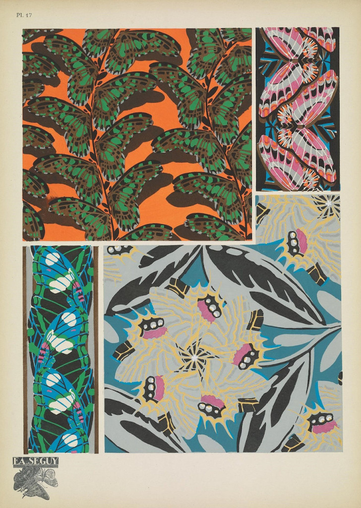 E. A. Séguy, 'Papillons' (1925), Smithsonian Libraries/Biodiversity Heritage Library)
