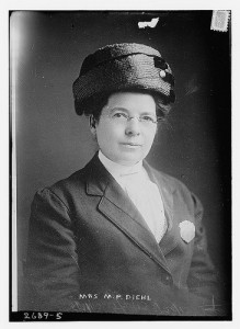 Mrs. M.P. Diehl, Bain News Service, Library of Congress. Correctly identified by Flickr member, Penn