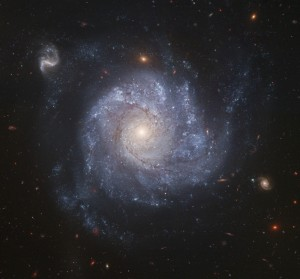 Hubble Snaps Images of a Pinwheel-Shaped Galaxy, February 7, 2006, NASA, The Hubble Heritage Team an