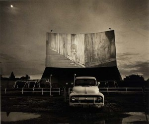 Untitled (Drive-In Movie: Woodie…), Steve Fitch, date unknown, Smithsonian American Art Museum