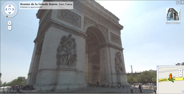 L'Arc de Triomphe, Paris, France, 2009