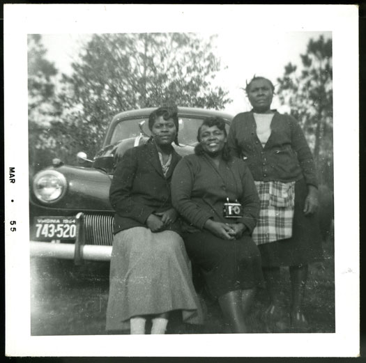 <p>Three Women by Car with One Camera, March 1955, Anonymous donation to the Smithsonian</p>