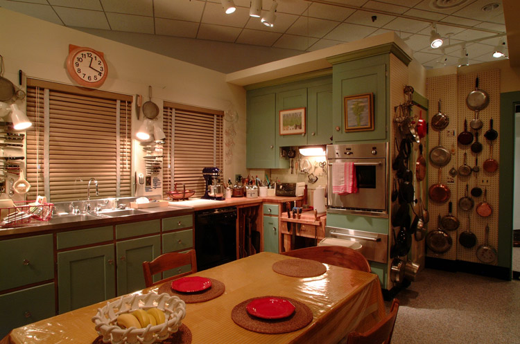 Exhibition View of Julia Child's Kitchen at The National Museum of American History, Kenneth E. Behring Center