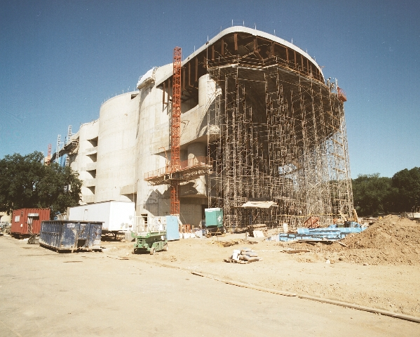 Construction of the National Museum of the American Indian, July 2003, digital photograph, Smithsoni