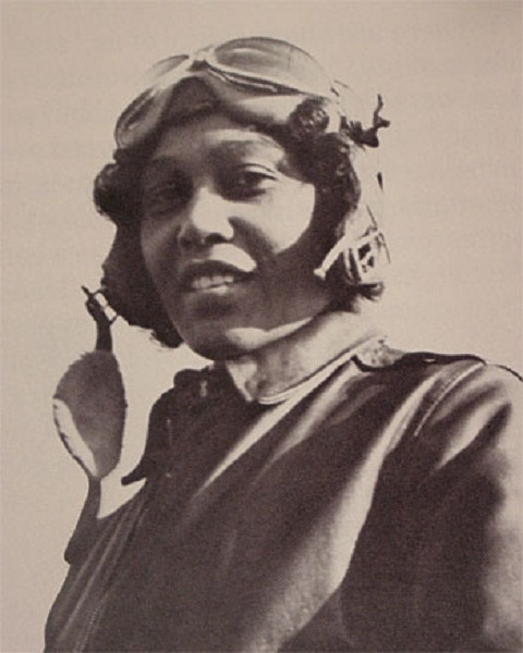 Janet Harmon Bragg in her flight suit, c. 1930s, by Unidentified photographer, Smithsonian Institution Archives, RU 9545, Still image from Videohistory Interview Session 1 Tape 1.
