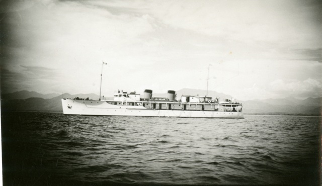 "Four of Hancock's ships, all named ""Velero,"" were used for scientific research and collecting expeditions along the coasts of Central and South America. There were three Hancock expeditions to the Galapagos Islands between 1933 and 1935, Smithsonian Institution Archives, Waldo L. Schmitt Papers. Record Unit 7231, Box 89 Image # SIA2011-0776."