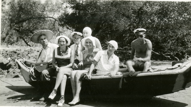 The women on board the Velero included wives of expedition members Mrs. Charles Swett and Mrs. Louis Filley, plus Mrs. Eleanor Morgan, and Mrs. Helen Morgan, Smithsonian Institution Archives, Waldo L. Schmitt Papers, Record Unit 7231, Box 89 Image #SIA2011-0777.