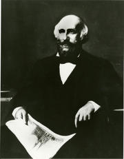 Oil portrait of James Renwick, Jr., by John Whetten Ehninger, 1853