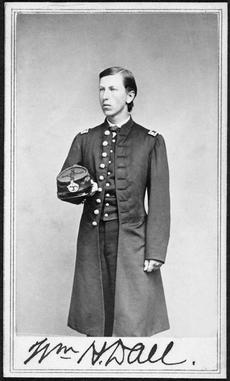 William Healey Dall in his expedition uniform, by Unknown, July 9, 1865