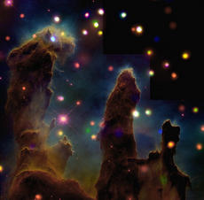 The Eagle Nebula (M16): Peering Into the Pillars of Creation