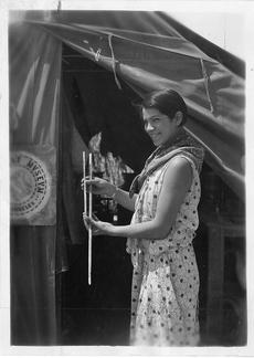 Bertha Parker Pallan (Cody) (1907-1978), Smithsonian Institution Archives, Acc. 