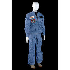 Astronaut Sally K. Ride wore these clothes during her flight in space