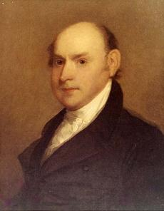 John Quincy Adams, by Gilbert Stuart, c. 1818, oil on panel, Smithsonian American Art Museum.