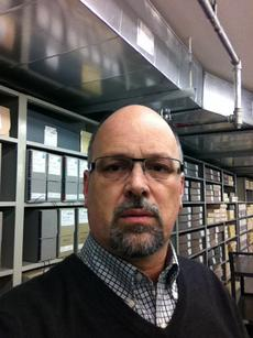 Riccardo Ferrante, IT Archivist, Smithsonian Institution Archives