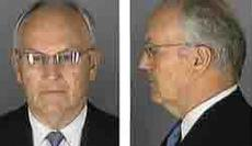 Mug shot of Larry Craig, U.S. Senator (R-Idaho), following his arrest on June 11