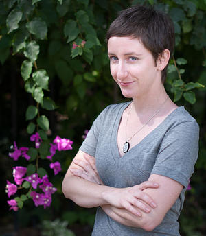 Sarah Stierch, photo by Matthew Roth, courtesy of Wikimedia Foundation.