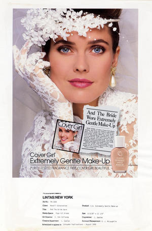 Cover Girl Extremely Gentle Make-Up, by Noxell Corporation (advertiser).