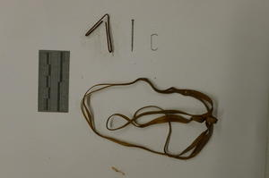 Inappropriate attachment methods: rubber band, paperclip, staple, and straight pin, October 2012, by