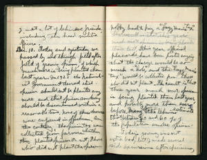 David Crockett Graham's diary entry from December 10,  1929, describing some of the opium problems in China. Smithsonian Institution Archives, RU 7148, Box 1, Folder 10.