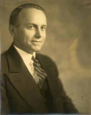 John Enos Graf, Associate Director of the United States National Museum (1931-1945) and Assistant Secretary for the Smithsonian (1947-1957), Neg. no. SIA2008-6151.