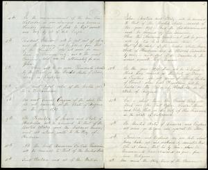 Second and third pages of Benjamin the Anti-Christ's Prophecy, Record Unit 7058, Box 17, Folder: Miscellany; Smithsonian Institution archives, Neg. no. SIA2012-9667.