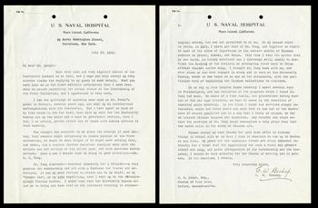 Carl W. Bishop correspondence to John Ellerton Lodge regarding Kuang-zung Tung, July 17, 1921, SIA Acc. 03-018.