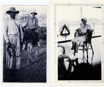 Photos of Dore Koerwein, or Dore Ritter as she was known to island visitors