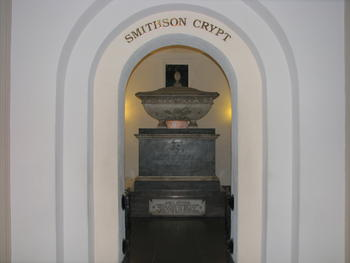 James Smithson Crypt, 2012. Courtesy of Mitch Toda.