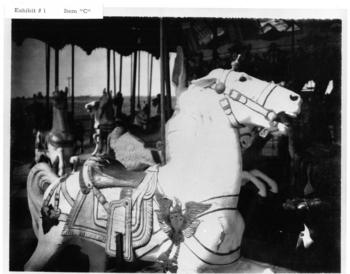 "Dentzel Carousel in 1966, Neg. no. SIA2010-3447, to be used in ""Carousel! Burlington's Historic Dentzel,"" a film by Chris LaForet."