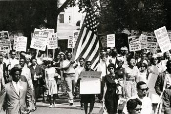 1963 March on Washington, 1963, by Jim Wallace, Smithsonian Institution Archives