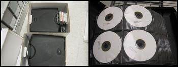 Case of CD-R's, Skowhegan School of Painting and Sculpture Records,  Collection #211607, Archives of American Art.