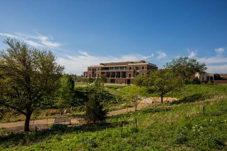 The George W. Bush Presidential Library and Museum, courtesy of the National Archives and Records Administration.
