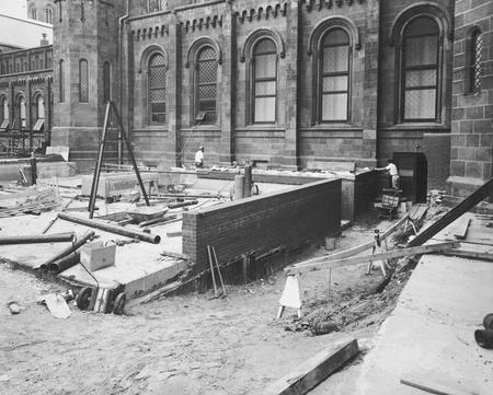 Renovation of the Smithsonian Institution Building, or Castle.