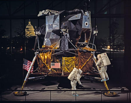 Apollo Lunar Module at National Air and Space Museum, November 7, 1978.