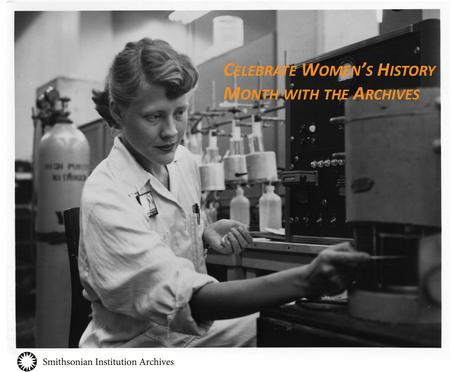 Celebrate Women's History Month with the Archives