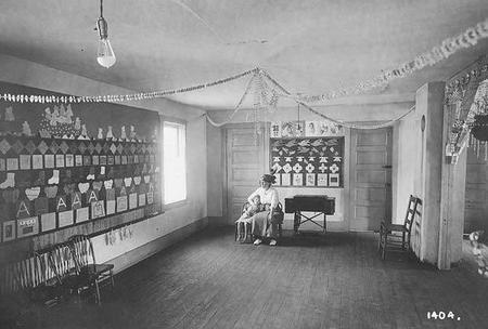 Kindergarten Classroom in Burdine, Kentucky, from the Consolidation Coal Company