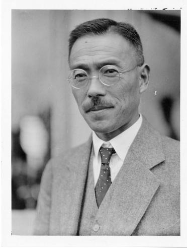 T. Imaseki was one of two official Japanese delegates to the First International Congress of Soil Science, June 1927, Washington, D.C. Accession 90-105 - Science Service, Records, 1920s-1970s, Smithsonian Institution Archives, Neg. no. SIA2008-4284.