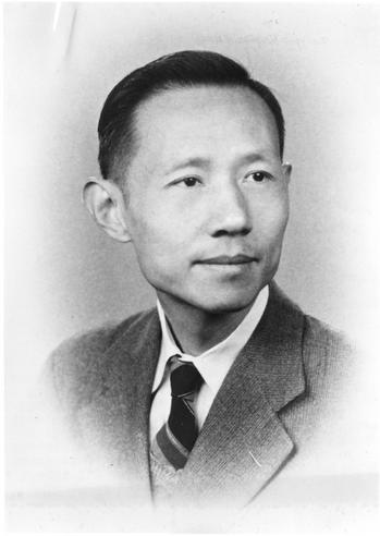 Dr. Li-chi Tai of China, who pursued advanced studies at the Carnegie Institute of Technology, under a grant provided by the American Chemical Society through the United Nations Educational, Scientific and Cultural Organization (UNESCO). Dr. Tai was associated with the Iron and Steel Division of the Chinese National Resources Commission. Accession 90-105 - Science Service, Records, 1920s-1970s, Smithsonian Institution Archives, Neg. no. SIA2009-4041.