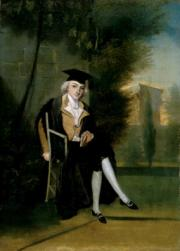 James Smithson, by James Roberts, 1786, Oil on canvas, National Portrait Gallery, NPG.96.28.
