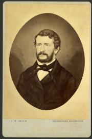William Wadden Turner, c. 1850s, photograph by T. W. Smillie, Record Unit 95 - Photograph Collection, 1850- , Smithsonian Institution Archives, Neg. No. SIA2014-01823.