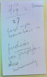 Jane Stafford's notes for her article written for Independent Woman in 1956.  Record Unit 7091 - Sci