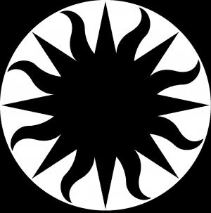 Smithsonian sunburst  logo