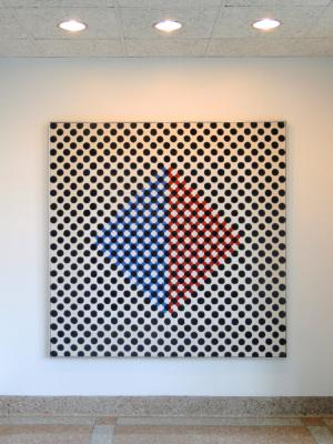 Thomas Downing, Center Grid, circa 1960.