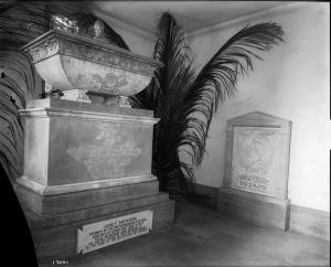 Crypt Room, Smithsonian Institution Building,photographer unknown, 1905, Smithsonian Institution Archives, negative # mah-17041.