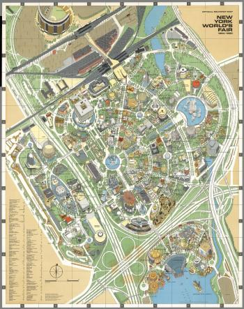 New York World's Fair Map